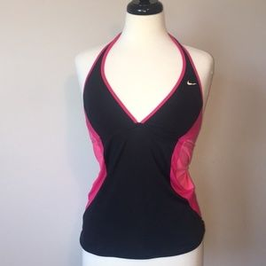 NWOT Nike Halter Tankini Swim Suit Top
